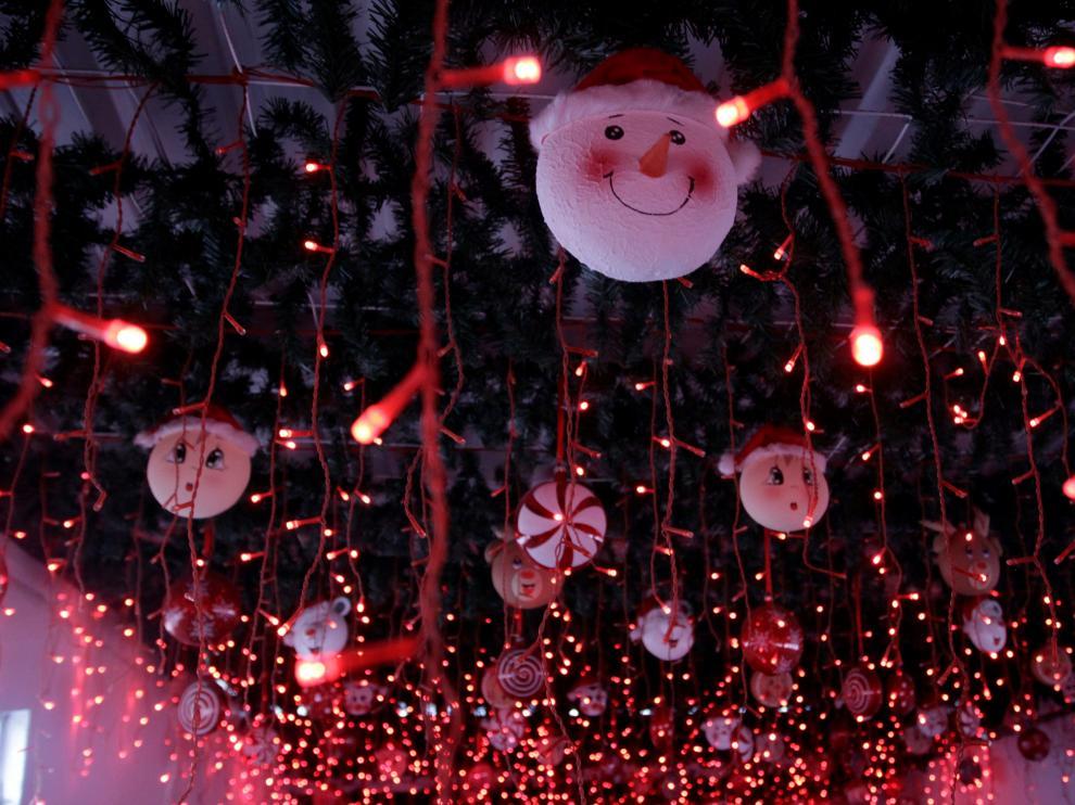 Decoración navideña al compás de los villancicos