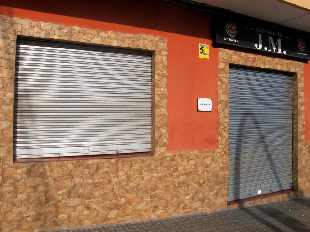 Imagen de la fachada del local donde sucedieron los hechos.