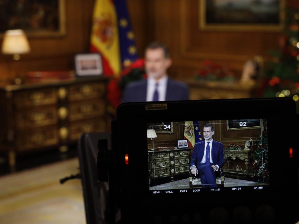 Mensaje del Rey en 2019.