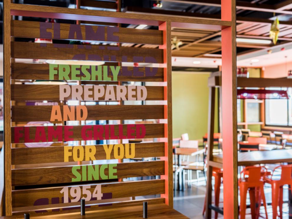 Burger King abre un nuevo establecimiento en Utebo.