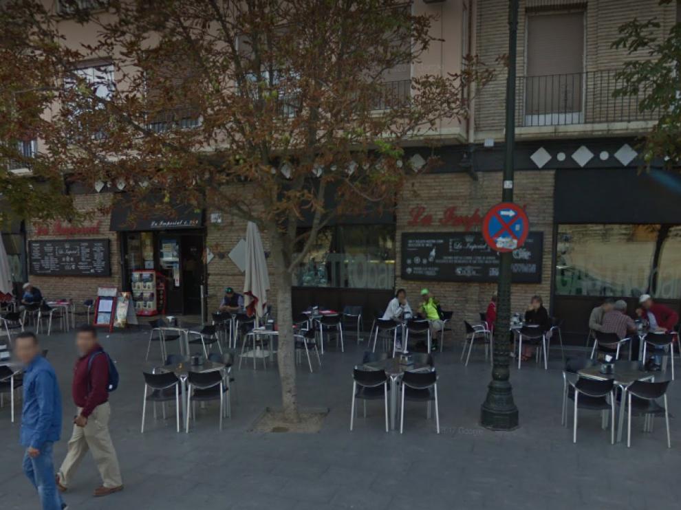 Cafetería La Imperial, en Zaragoza.