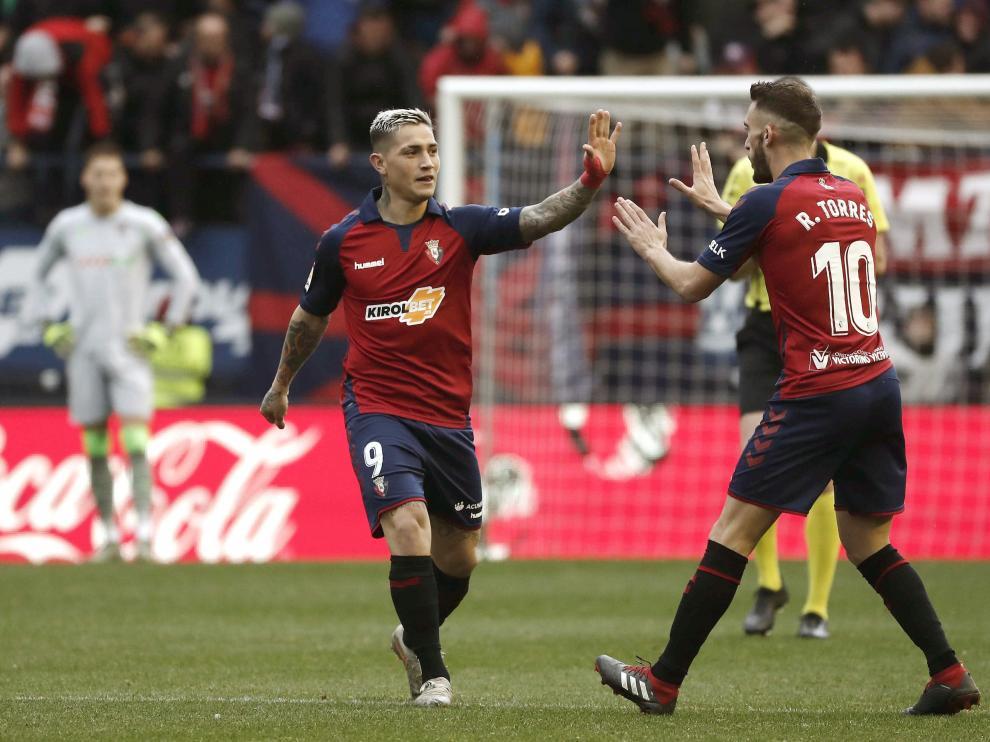 El volcánico Chimy Ávila suma ocho goles y tres asistencias en Osasuna.