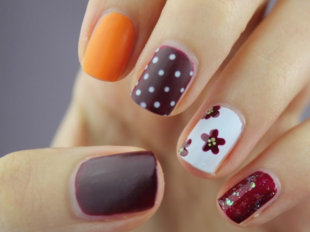 Esmalte de uñas permanente.