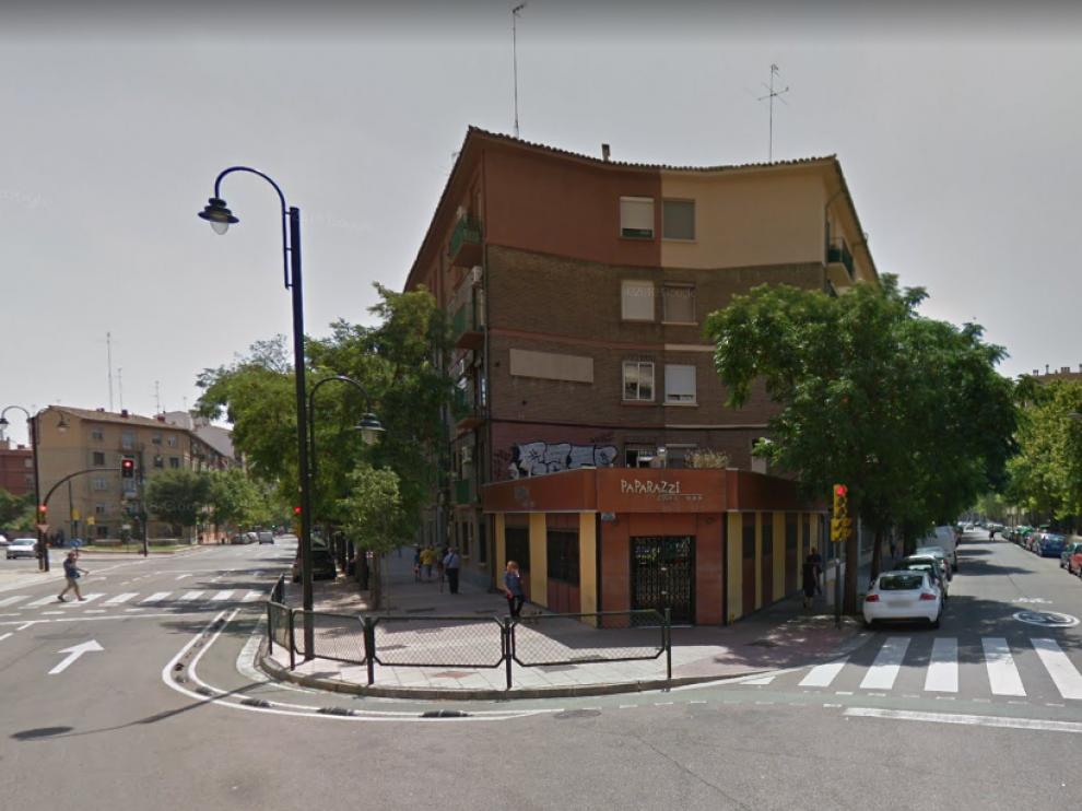 El suceso ocurrió entre las calles Compromiso de Caspe y Florentino Ballesteros