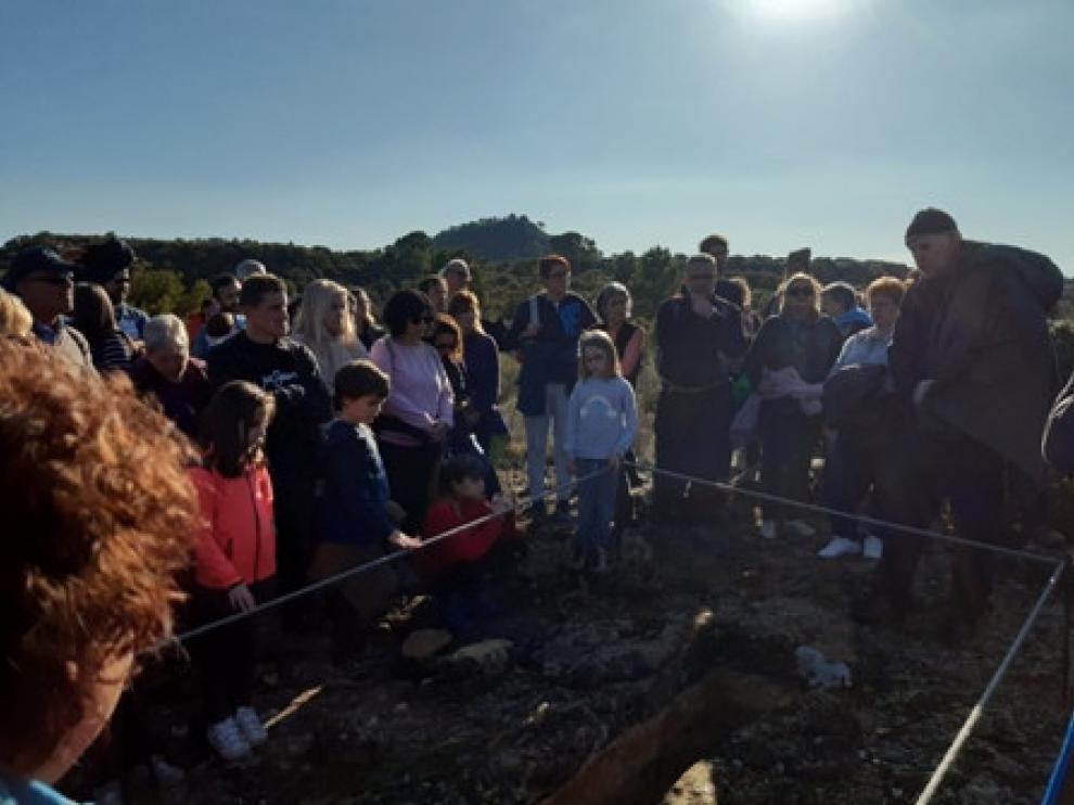 La ruta se inauguró con un grupo de 70 personas.