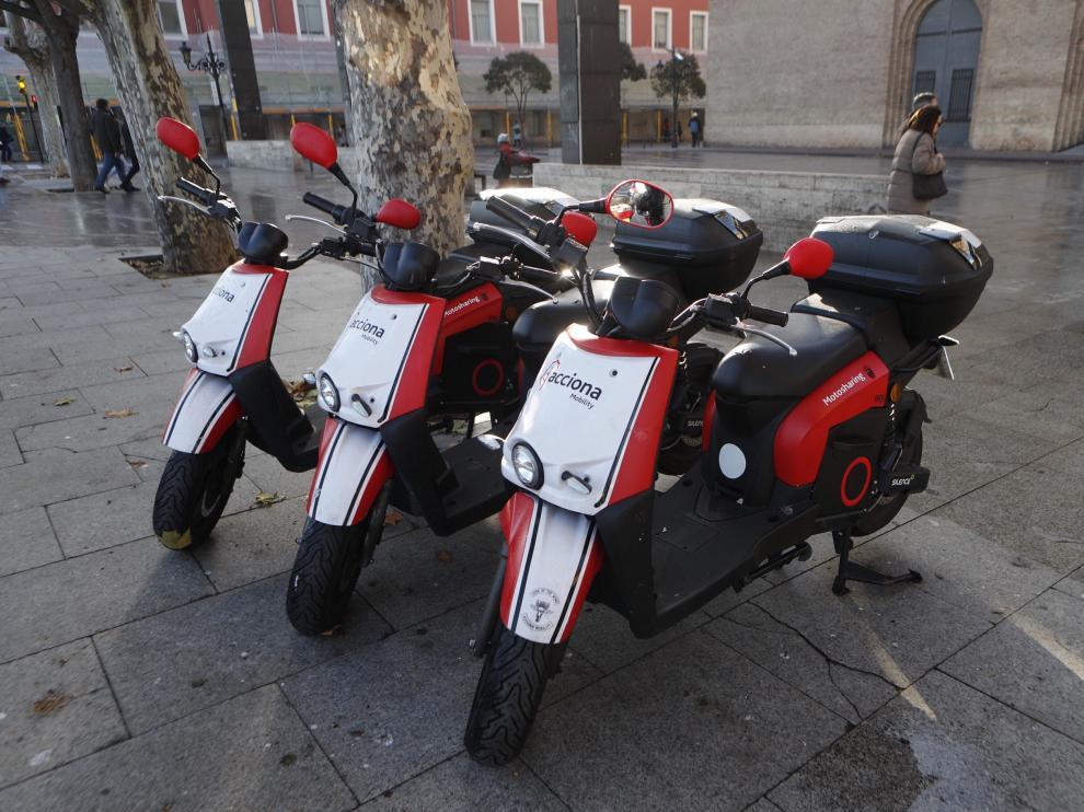 Nuevo servicio de alquiler de motos en Zaragoza