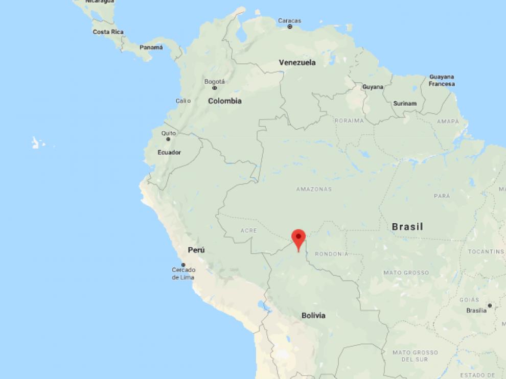 Ocurrió en Riberalta, al norte de Bolivia