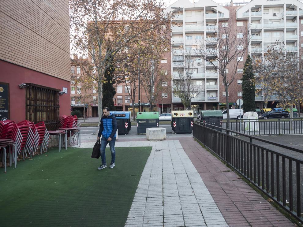 La pelea se produjo sobre las 22.00 del día 22 de diciembre en un andador próximo a la avenida de Salvador Allende de Zaragoza.