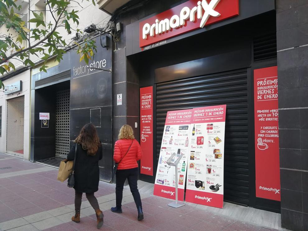 Primaprix, el súper outlet, llega a Zaragoza con una tienda en el Paseo de las Damas