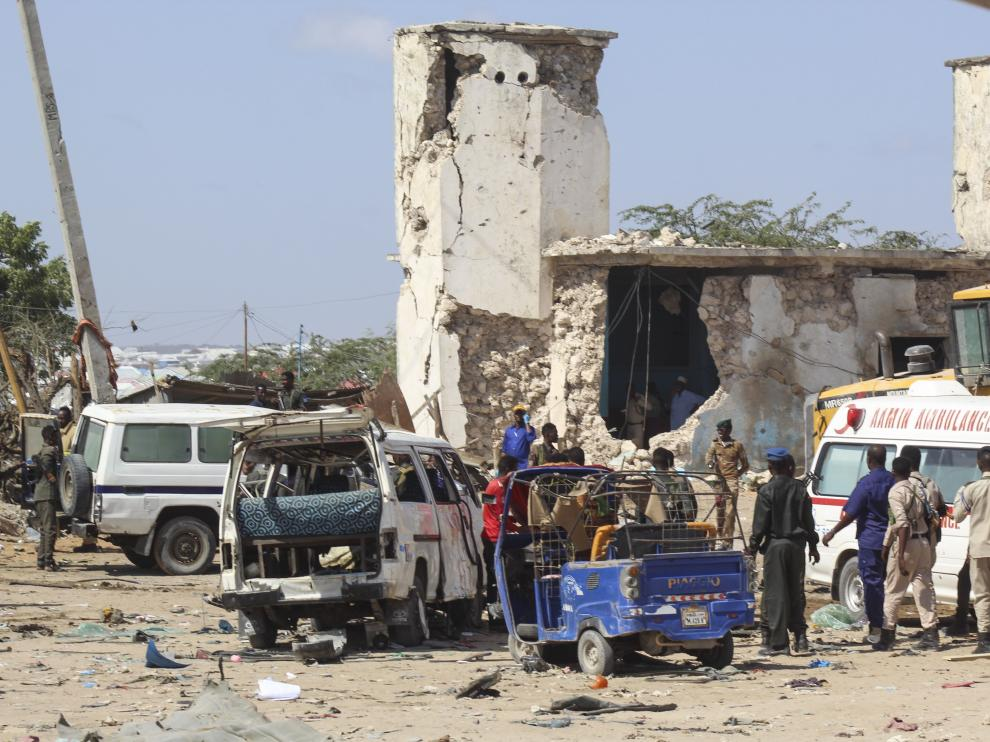 El atentado terrorista ha causado al menos 92 fallecidos y 128 heridos.