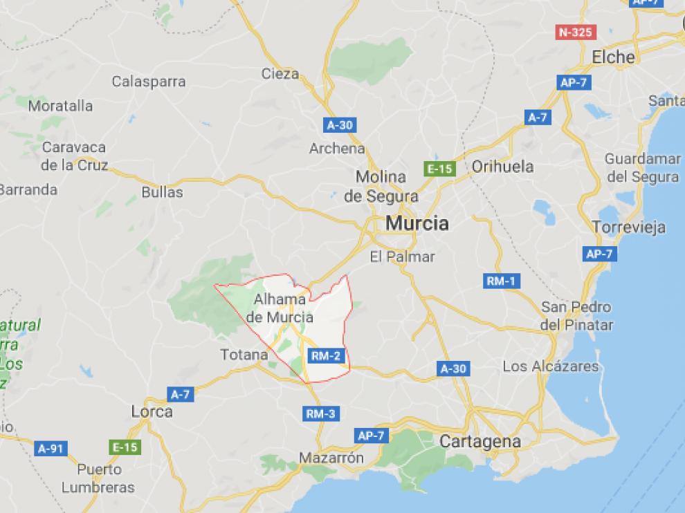 El incidente tuvo lugar en el centro de primera acogida de menores extranjeros de Alhama de Murcia.