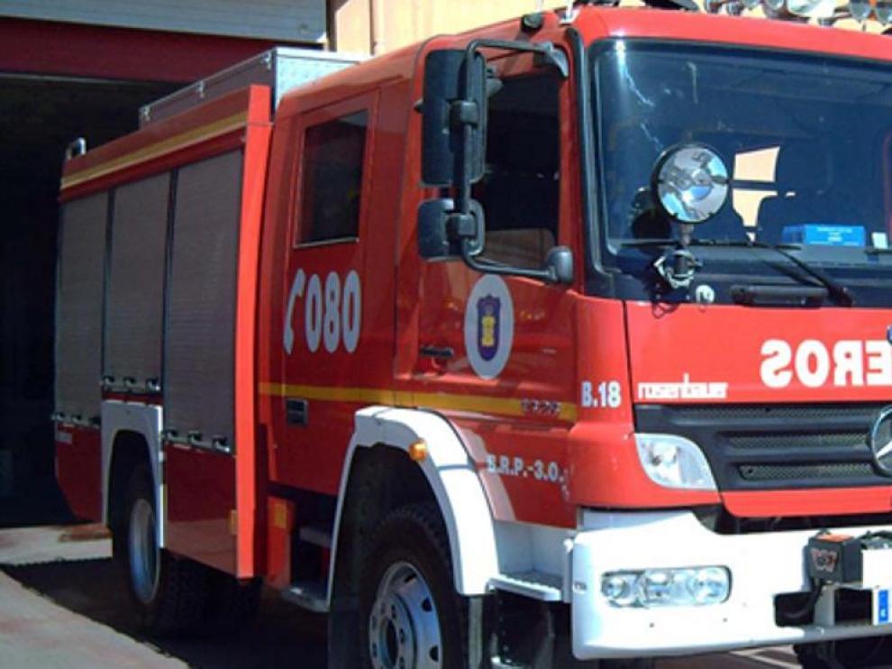 Mueren dos persona sen un incendio en Málaga