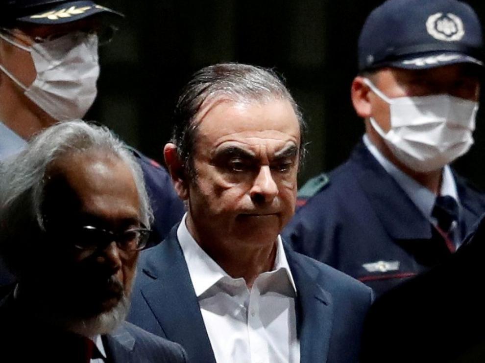 El expresidente de Nissan Carlos Ghosn confirmó hoy que se encuentra en el Líbano