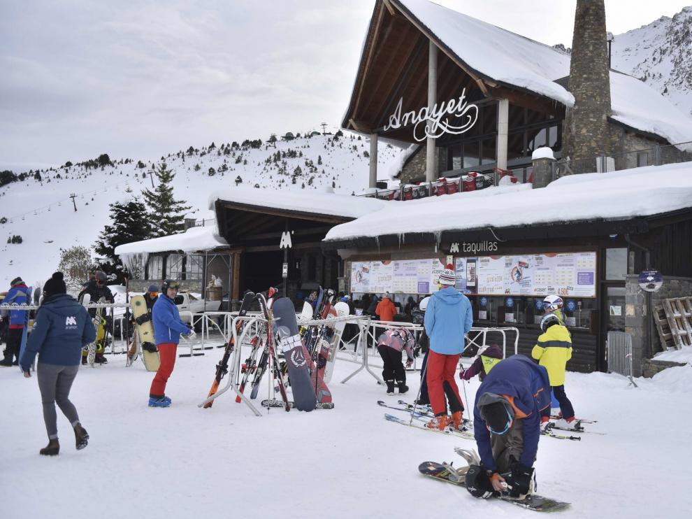 Estación de esquí de Formigal.
