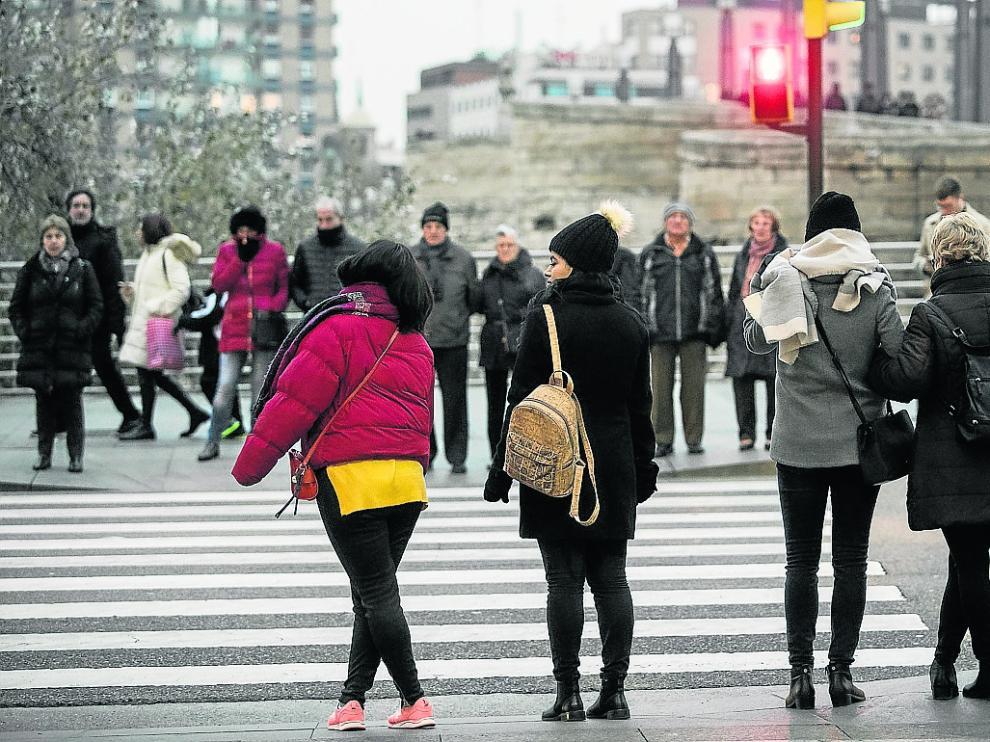 El frío fue la tónica dominante del día de ayer.