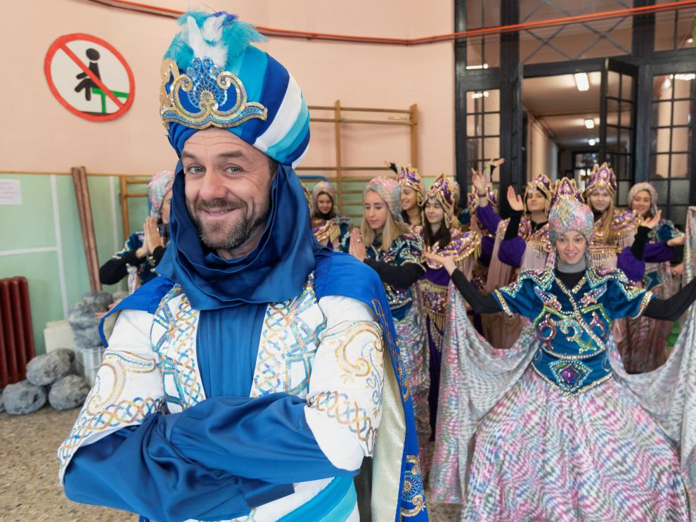 La cabalgata de 2020 se presentó este viernes en Zaragoza.