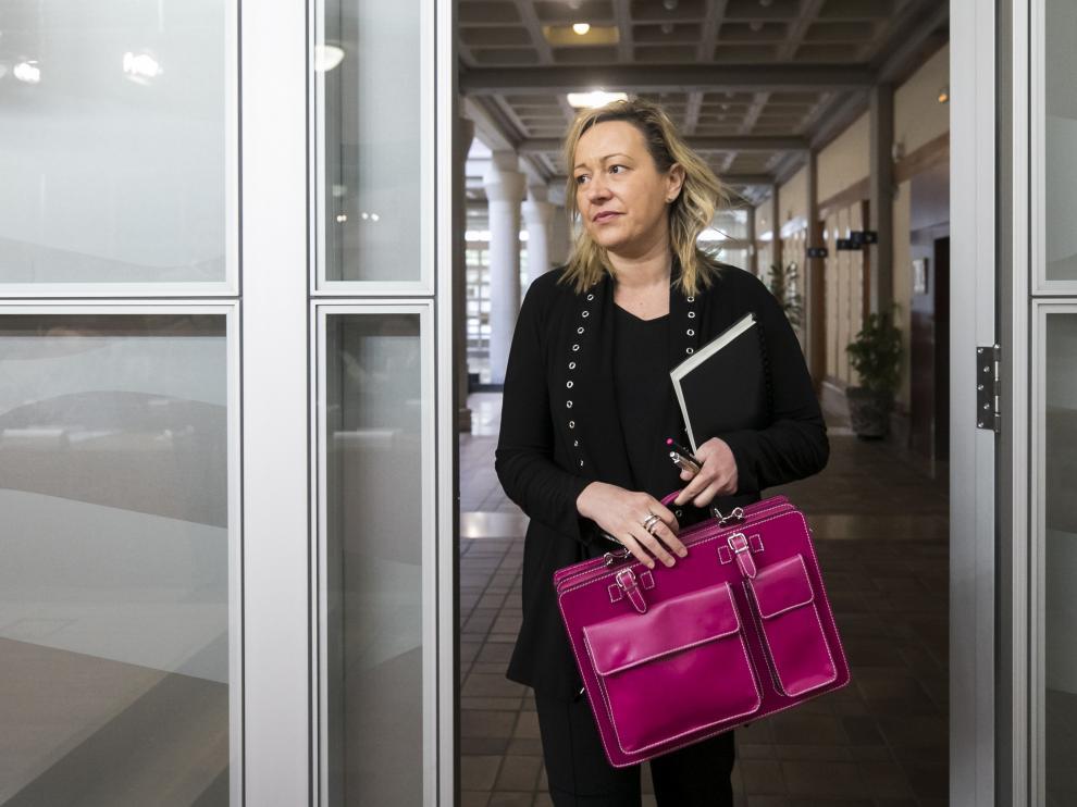 La consejera de Economía y Empleo, Marta Gastón.