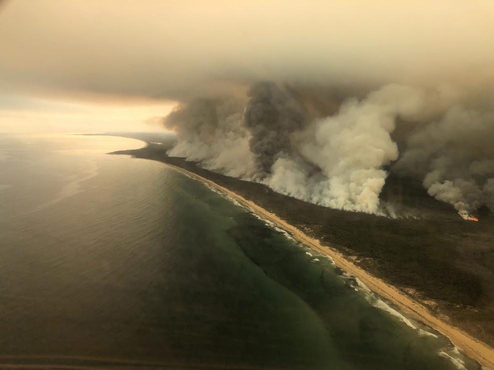 Resultado de imagen de isla canguro incendios