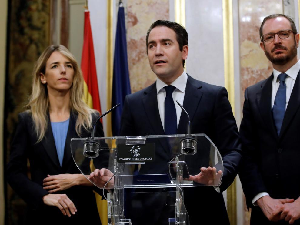 Teodoro García Egea, del PP.
