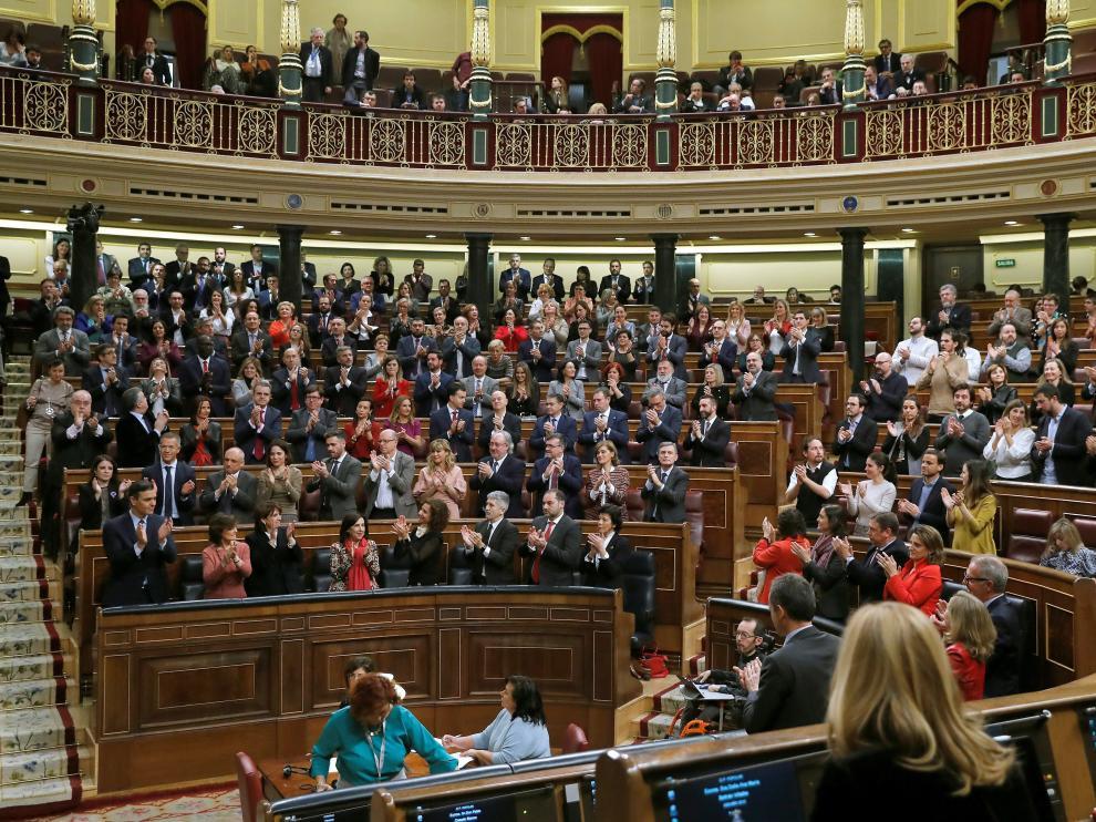 Segunda sesión debate de investidura de Pedro Sánchez.