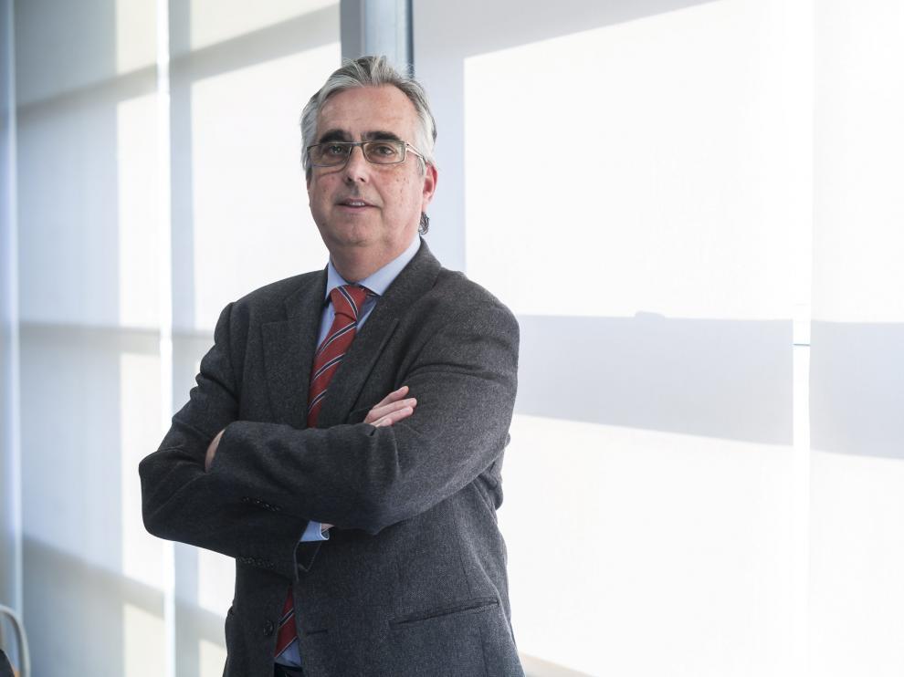 El director general del Grupo Lobe, Juan Carlos Bandrés.
