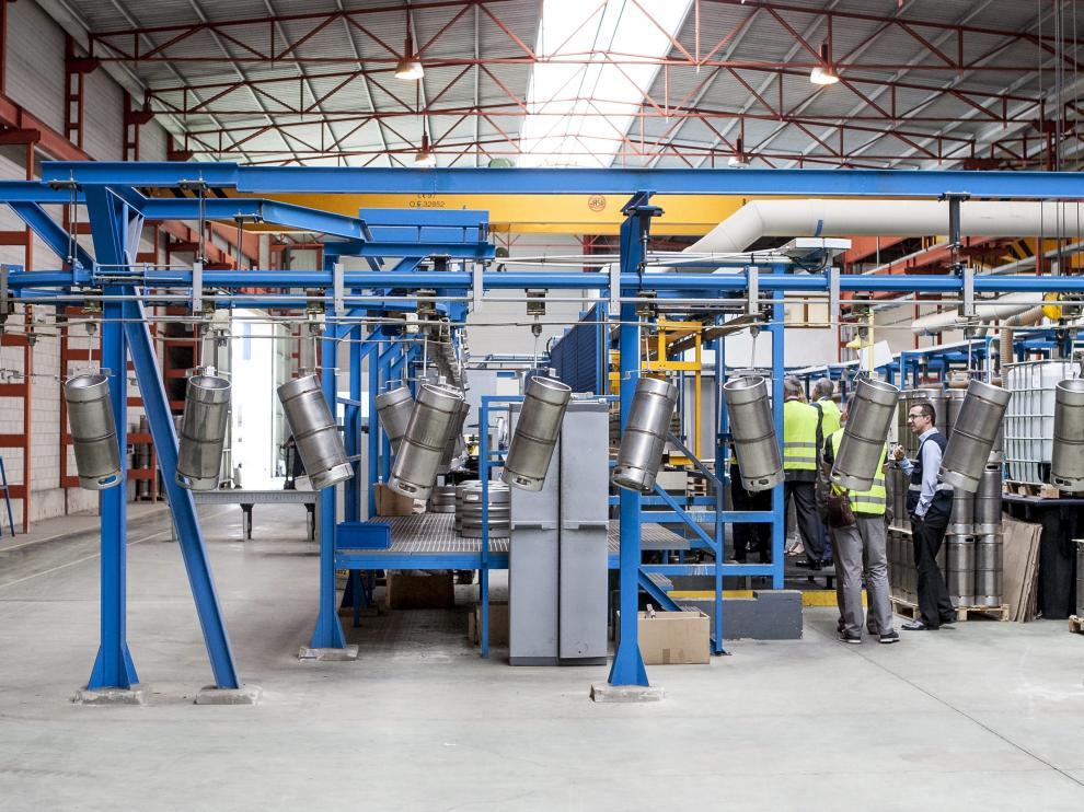 Imagen de 2016 de las instalaciones de Entinox en el polígono de Figueruelas.