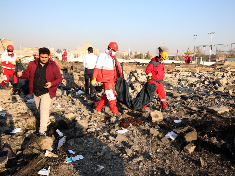 En el avión, un Boeing 737 con destino a Kiev, se encontraban 167 pasajeros y nueve miembros de la tripulación.
