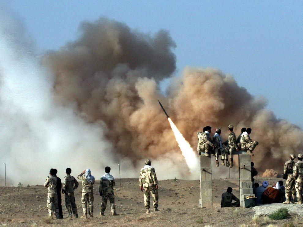 Foto de archivo de Ejercicios militares en Irán
