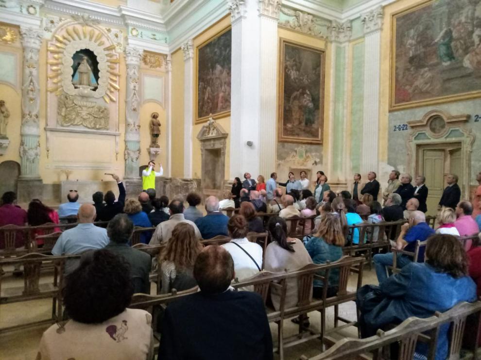 Las visitas guiadas a La Cartuja de las Fuentes atrajeron a mucho público en 2019.