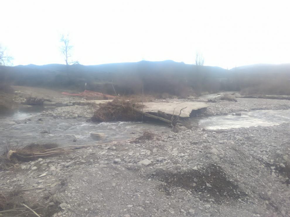 Cauce del río Lubierre.