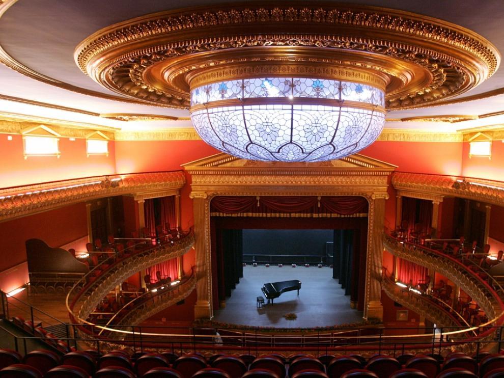 Imagen del Teatro Olimpia, que este año acogerá la gala de los Premios de la Música Aragonesa.