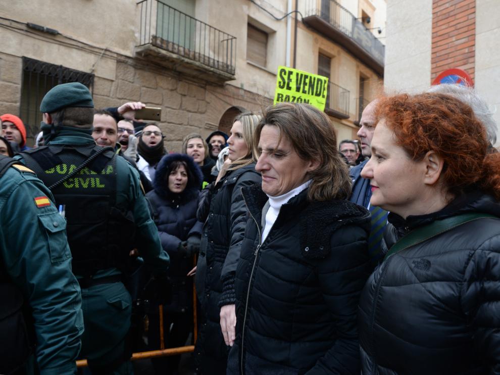 Ministra Teresa Ribera en Andorra /2018-01-22/ Foto: Jorge Escudero [[[FOTOGRAFOS]]]