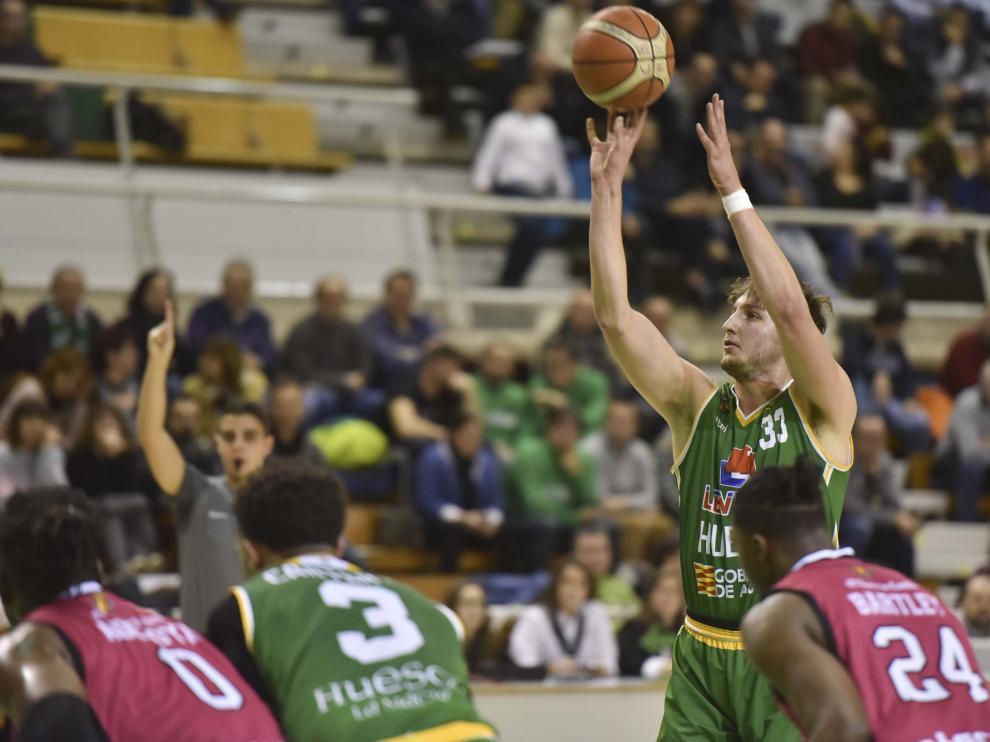 El Levitec Huesca no pudo con el Valladolid