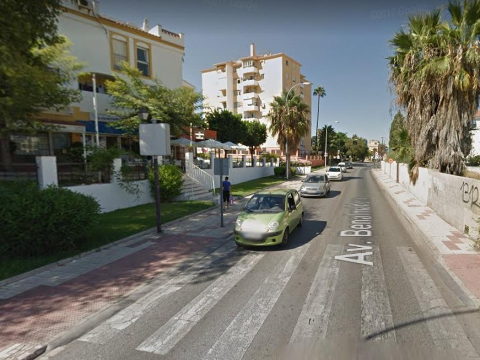 El incendio se ha declarado en un edificio de 10 plantas en la avenida de Benalmádena de Torremolinos.