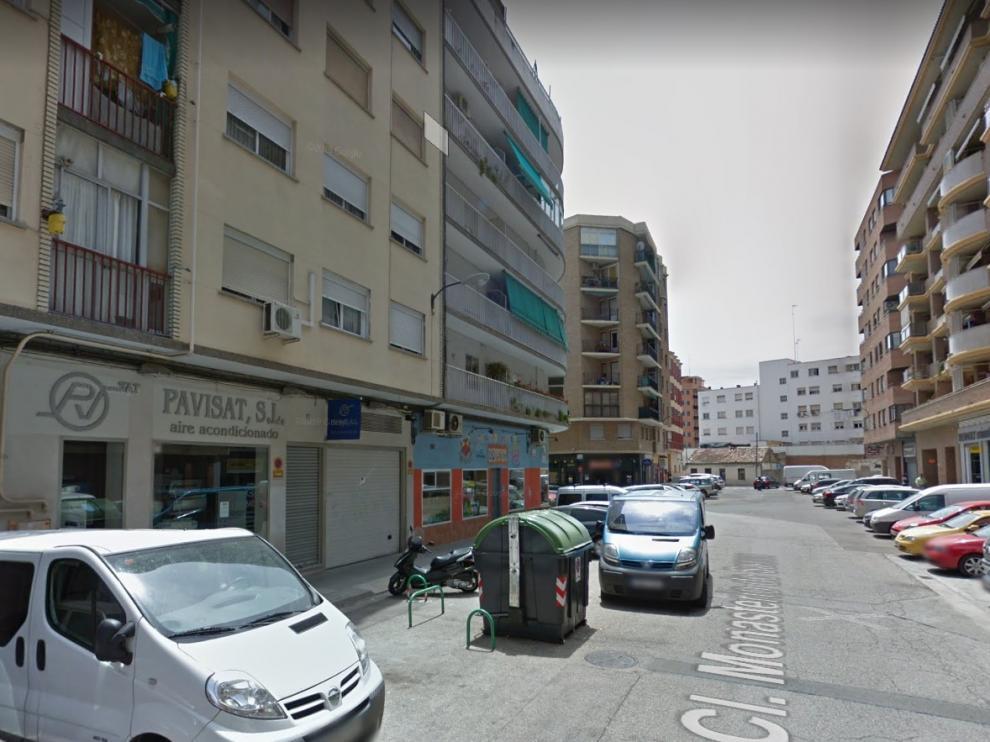 La detención por violencia de género se produjo en la calle del Monasterio de Samos