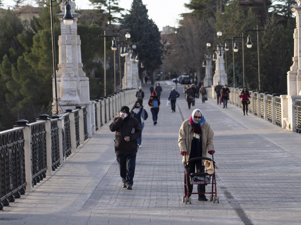 frio en Teruel. Foto Antonio Garcia/bykofoto. 13/01/20 [[[FOTOGRAFOS]]]