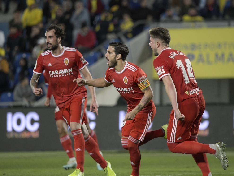 Partido Las Palmas-Real Zaragoza, de la 23ª jornada de Segunda División
