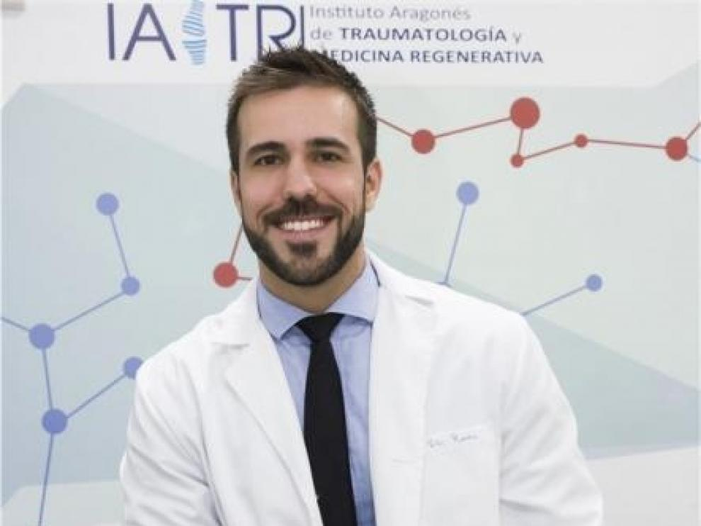 El doctor aragonés Víctor Roda Rojo