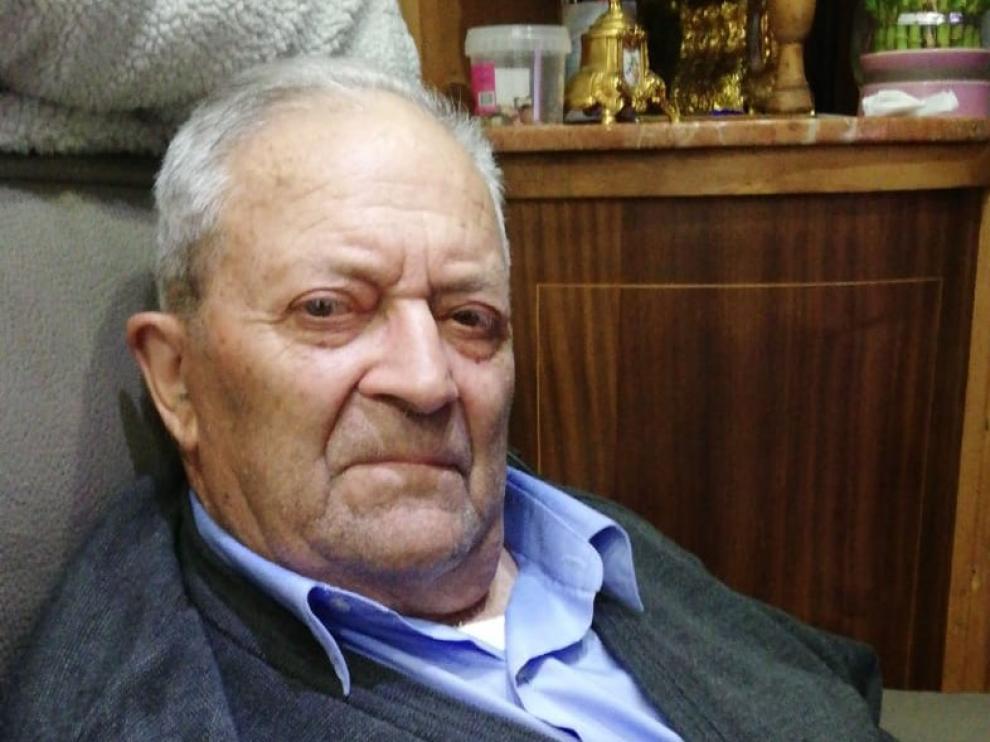 Francisco Ballarín Carrera, el anciano desaparecido.