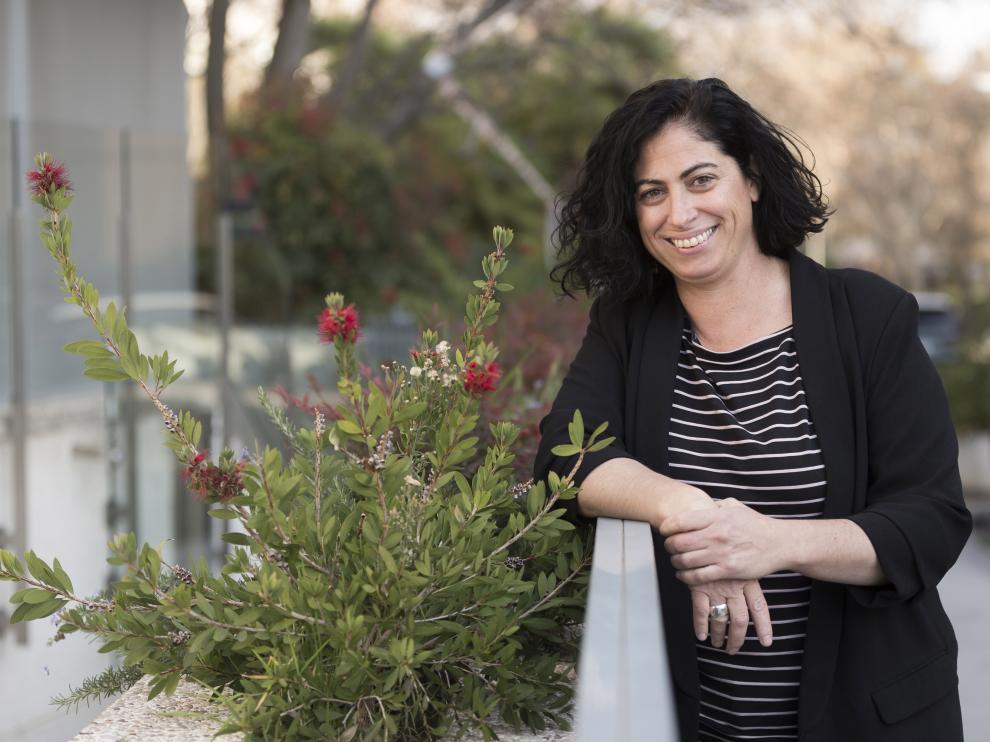 Cristina Aranda asiste el jueves que viene a una jornada en Zaragoza Activa.