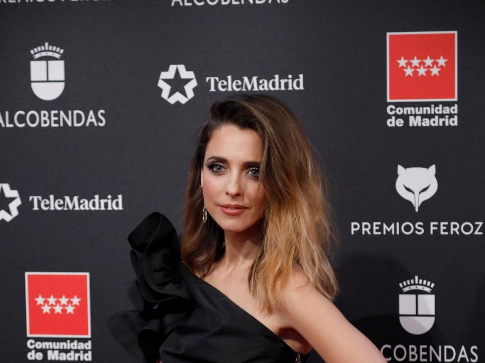 La directora y actriz Leticia Dolera durante la alfombra roja de los Premios Feroz 2020