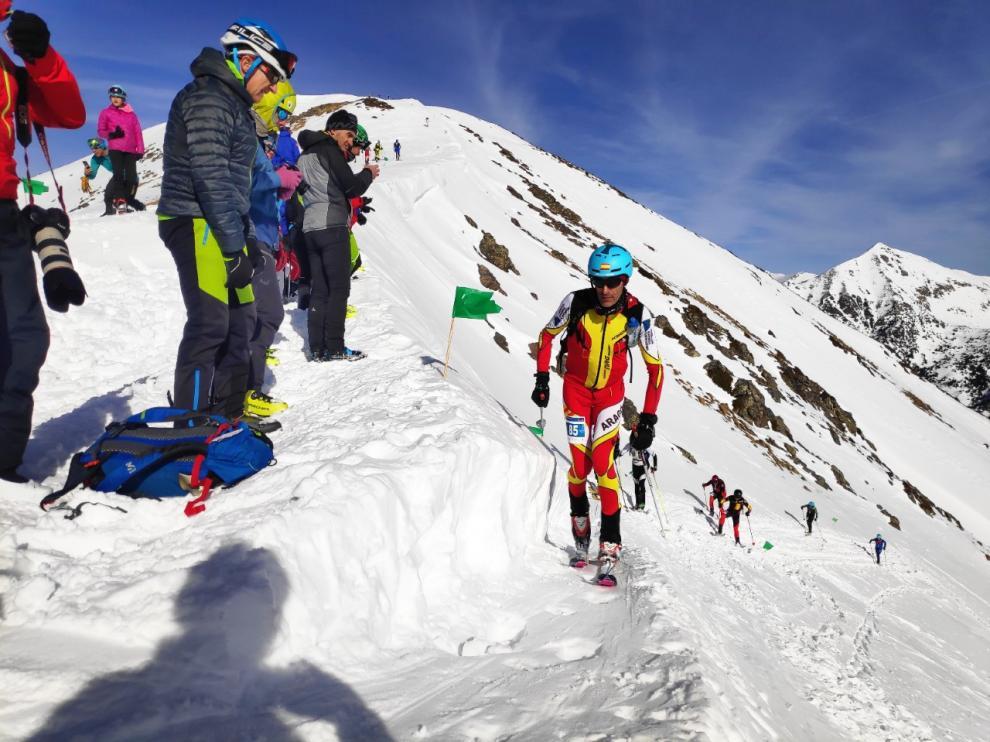 Participantes de Aragón en la Copa de Esquí de Montaña 2019