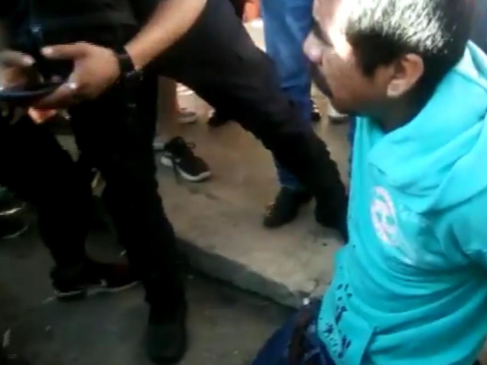 Supuesto pederasta quemado vivo en Chiapas
