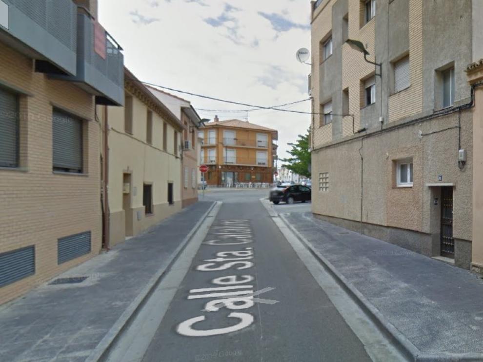 Los hechos se produjeron en torno a las 15 en la calle de Miguel Servet,