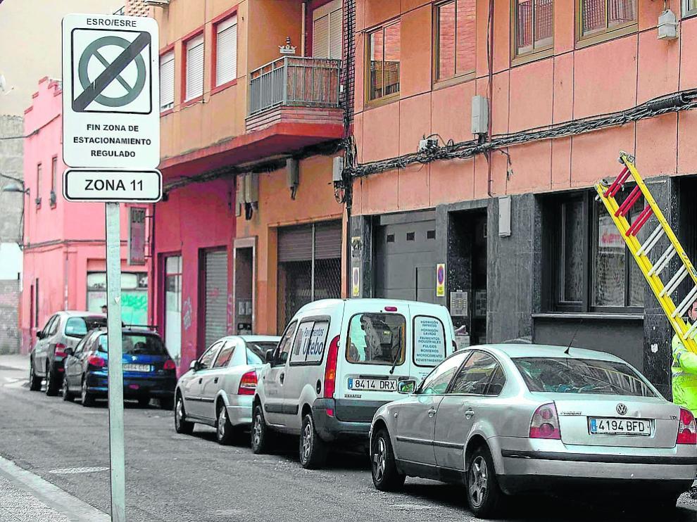 Las calles elegidas se encuentran junto a uno de los 13 sectores de zona azul de la ciudad