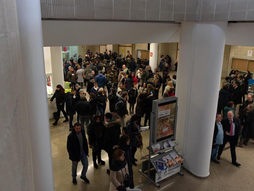 Las oposiciones de Correos en Zaragoza