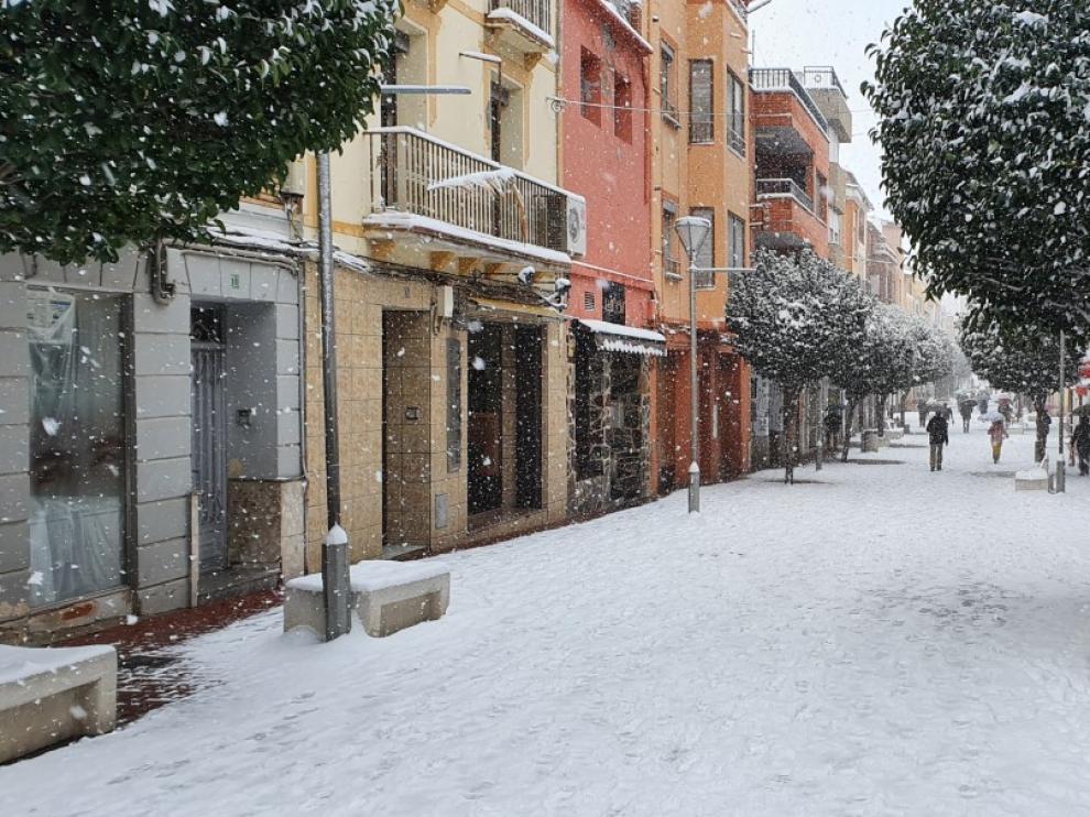 Las nevadas han dejado estampas como esta en Andorra