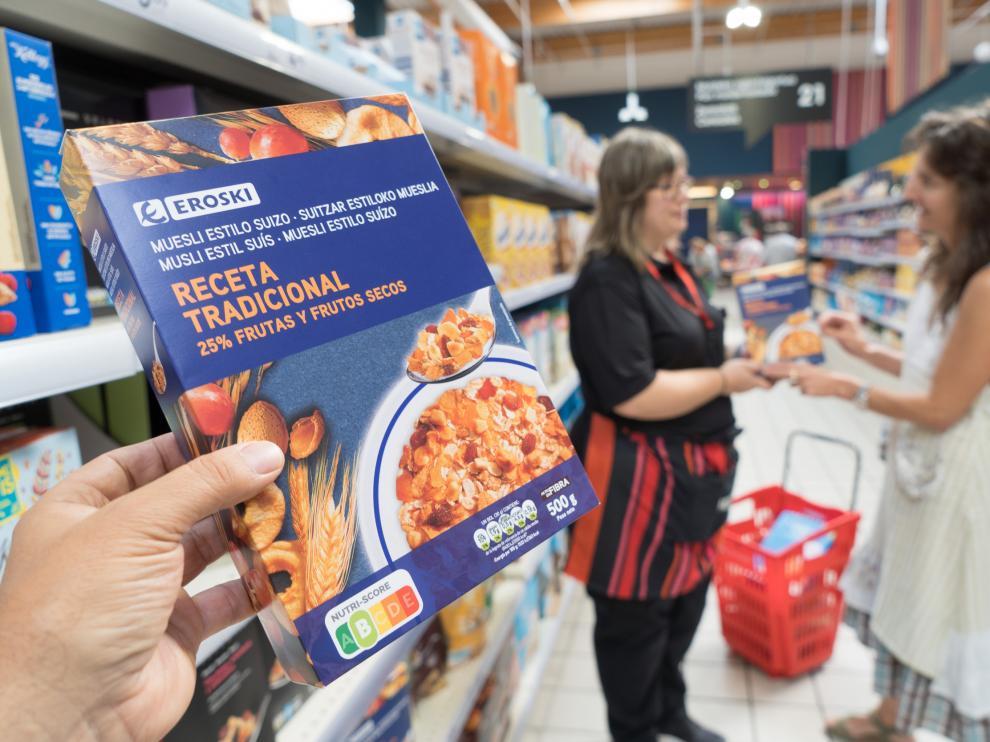 La cooperativa es pionera en la distribución española al adoptar el etiquetado Nutri-Score en sus productos de marca propia.