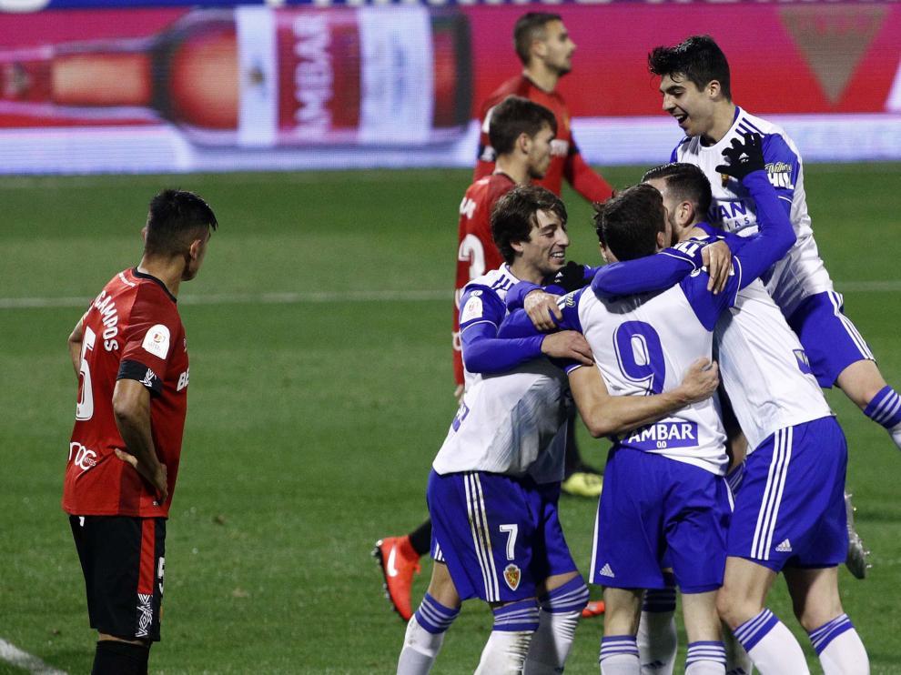 Partido Real Zaragoza-Mallorca de Copa del Rey