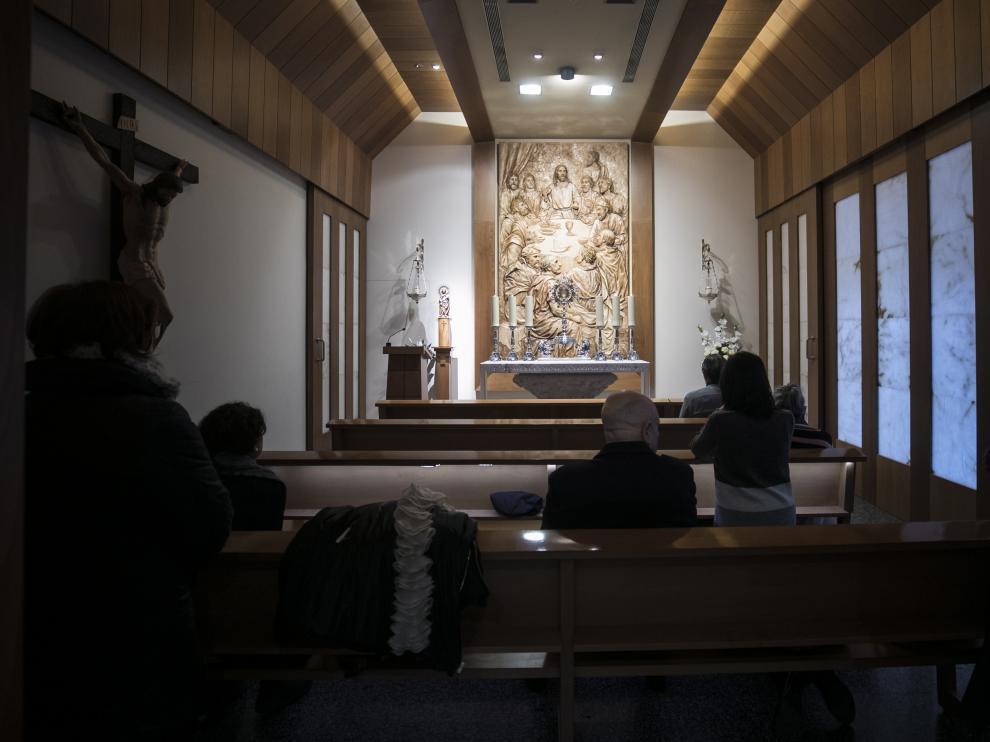 Capilla de San Pascual Bailón, en Zaragoza.